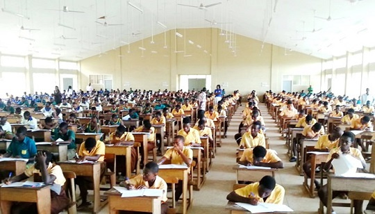 SCHOOL GES: JHS BECE Results : students