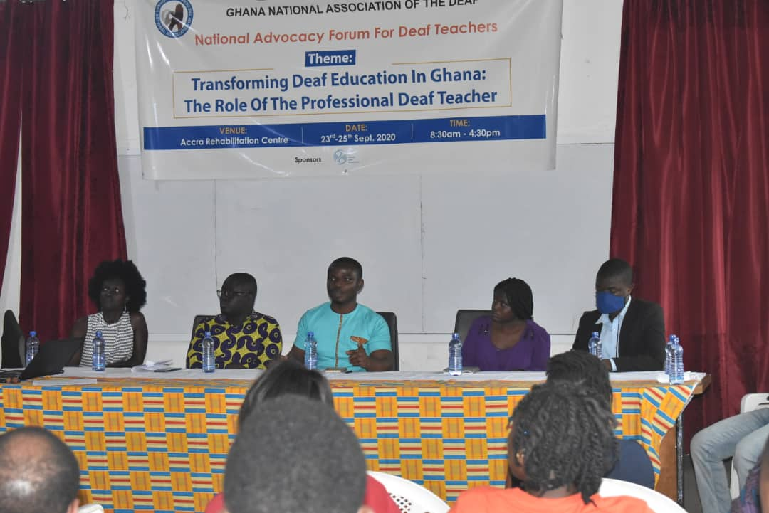 JUST IN: Unfavorable Curriculum, Lack of TLMs major causes of Poor BECE Performance of 'deaf Candidates'-Forum 5