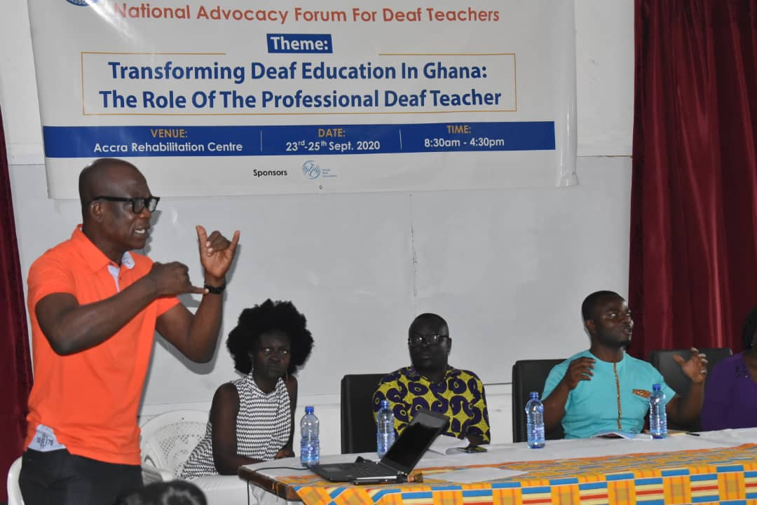 JUST IN: Unfavorable Curriculum, Lack of TLMs major causes of Poor BECE Performance of 'deaf Candidates'-Forum 4