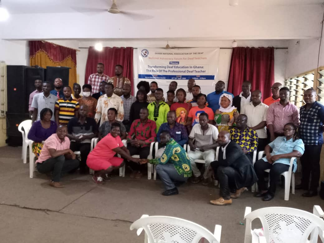 JUST IN: Unfavorable Curriculum, Lack of TLMs major causes of Poor BECE Performance of 'deaf Candidates'-Forum 7