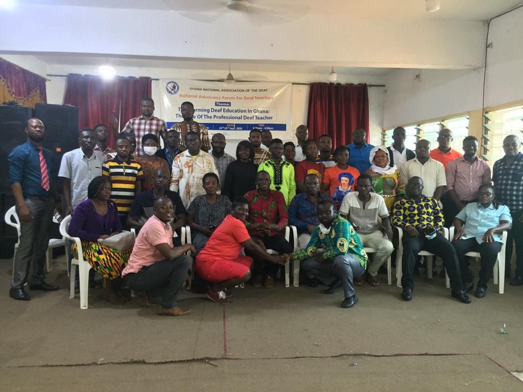 JUST IN: Unfavorable Curriculum, Lack of TLMs major causes of Poor BECE Performance of 'deaf Candidates'-Forum 8