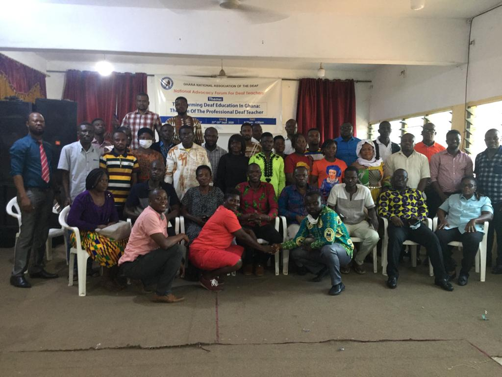 JUST IN: Unfavorable Curriculum, Lack of TLMs major causes of Poor BECE Performance of 'deaf Candidates'-Forum 1