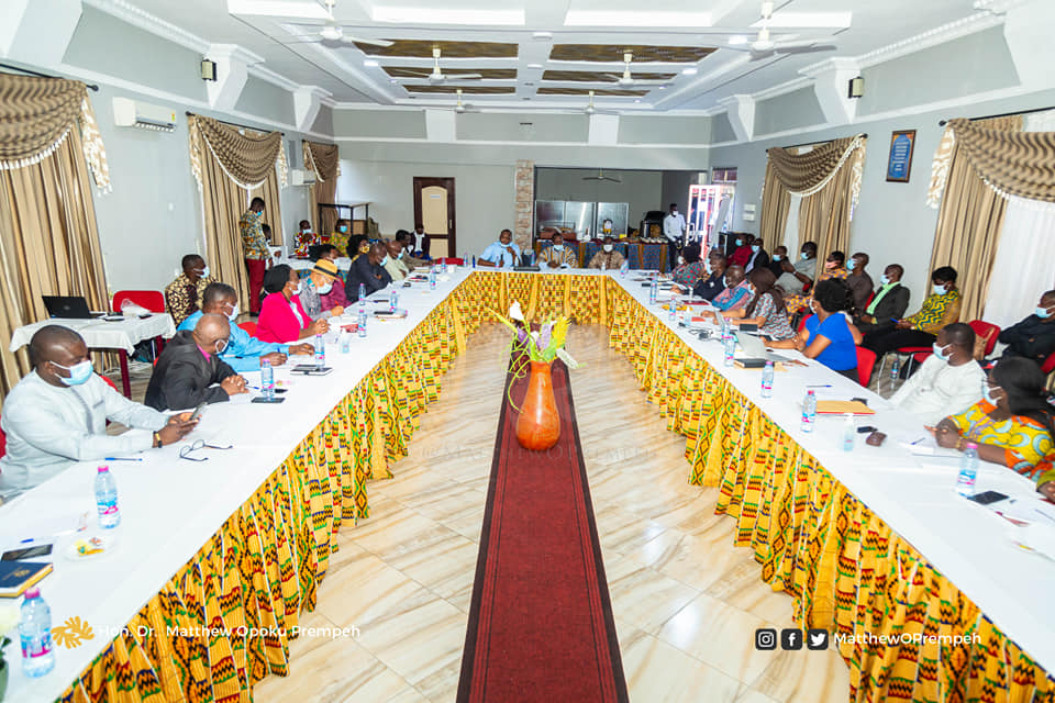 GES Council reviews Activities for 2020;Prepares for reopening of Schools in 2021 3