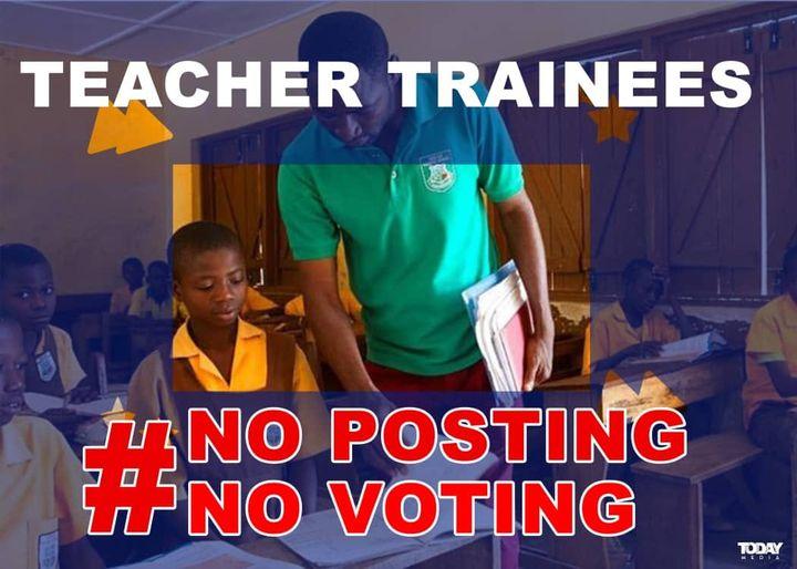 TEACHERS #NOPOSTINGNOVOTE