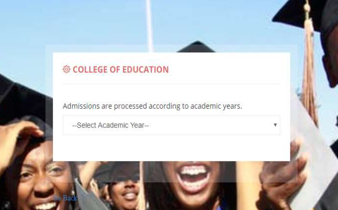 How to Print College of Education Admission Letter