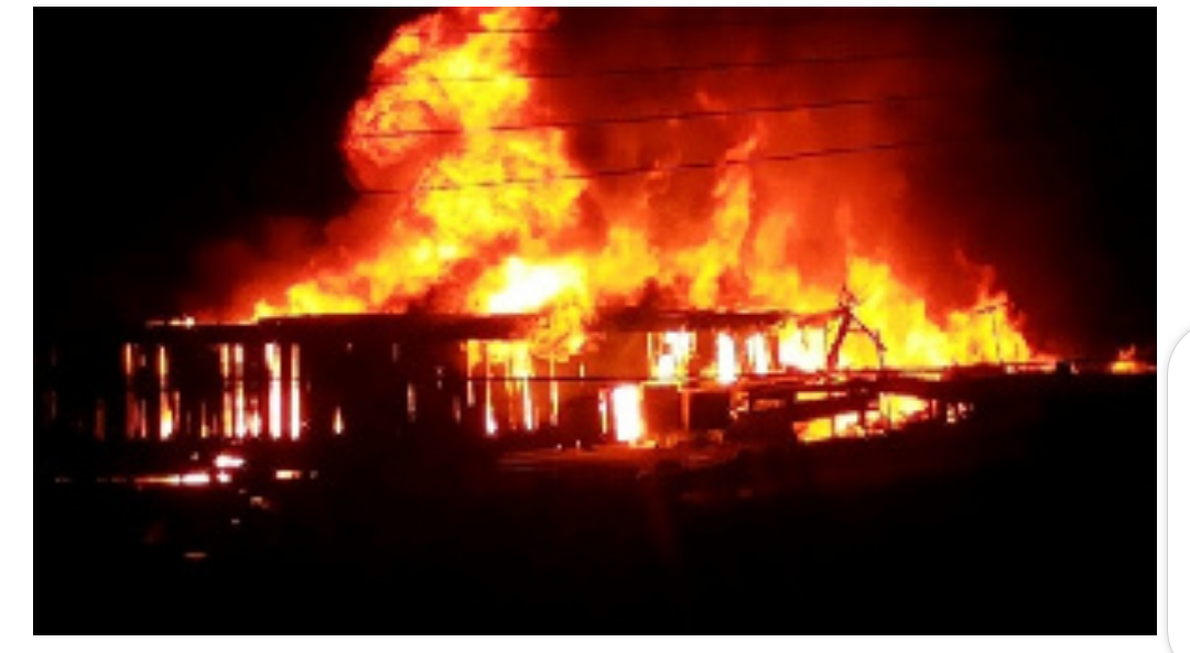 sakumono School complex fire