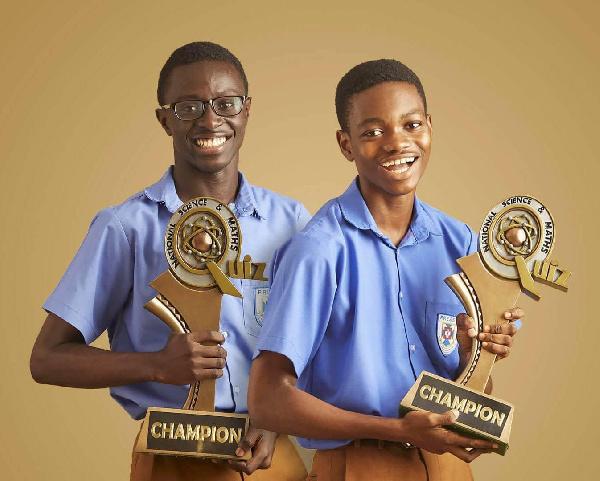 Gakpetor, Gyamfi and Benjamin Quansah led PRESEC-Legon to win their sixth NSMQ title